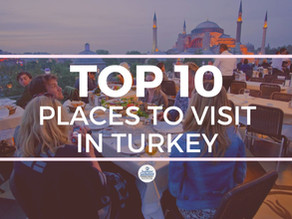 TOP 10 BEST PLACES TO VISIT IN TURKEY IN 2021