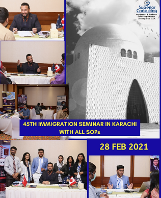immigration seminar in karachi pakistan
