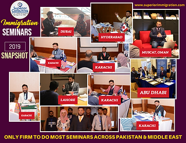 ONLY FIRM TO DO MOST SEMINARS ACROSS PAK