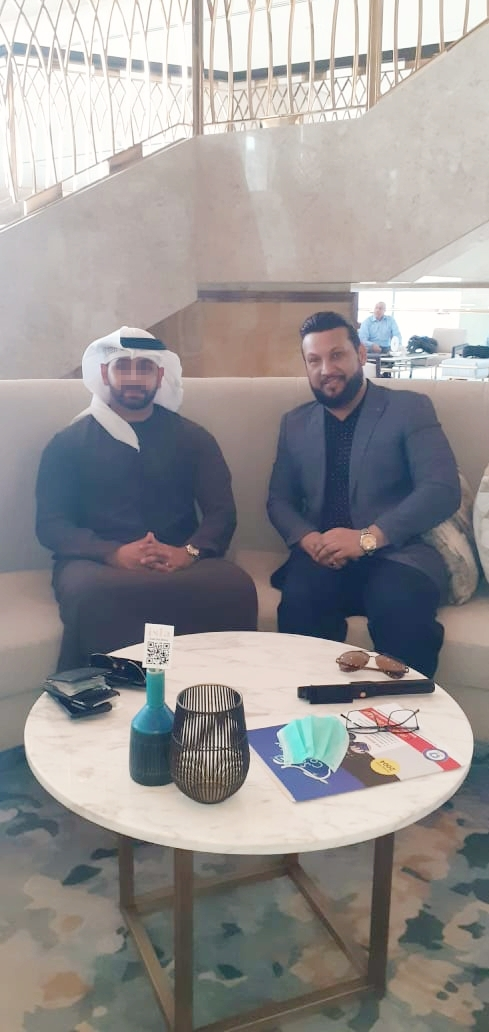 LATEST PICTURE OF MR. ADIL ISMAIL IN DUBAI - 22 SEP 2020