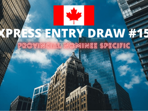 Express Entry Draw #156 (PNP Specific) | NEW CRS SCORE | 22 July