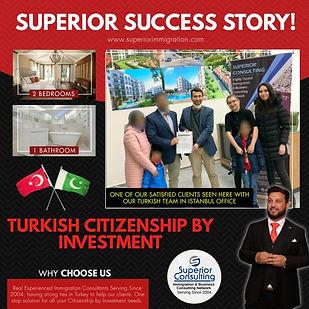 Turkish Citizenship Success Story Best T
