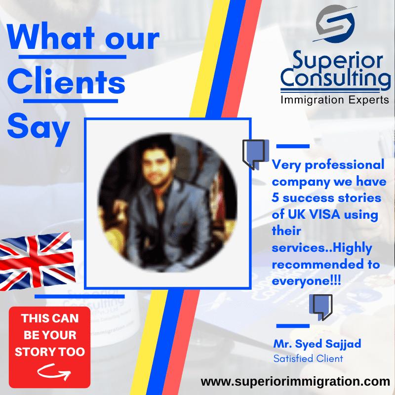 Testimonial Superior Consulting best uk