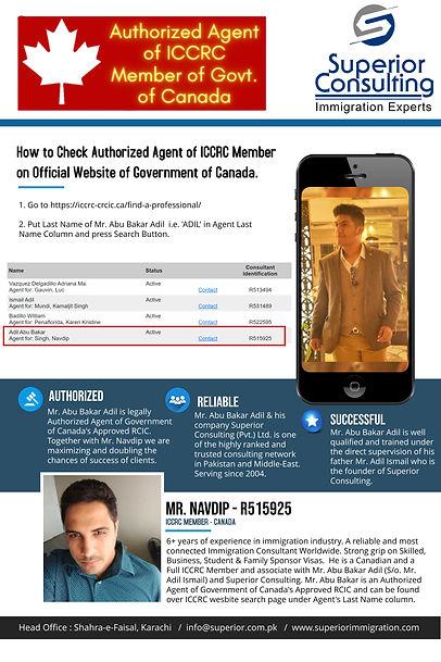 How to check agent of RCIC Abubakar (1).