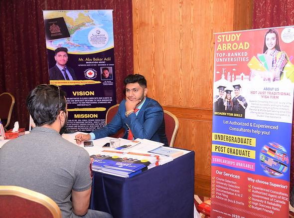 Abu Bakar Adil Best Canadian Immigration Consultant in Karachi Pakistan Registered Agent o