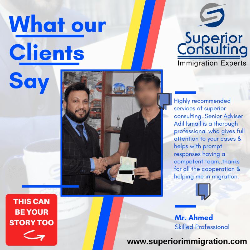 Testimonial Superior Consulting best Aus