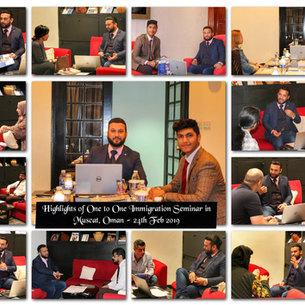 24th Feb, Immigration Seminar in Oman