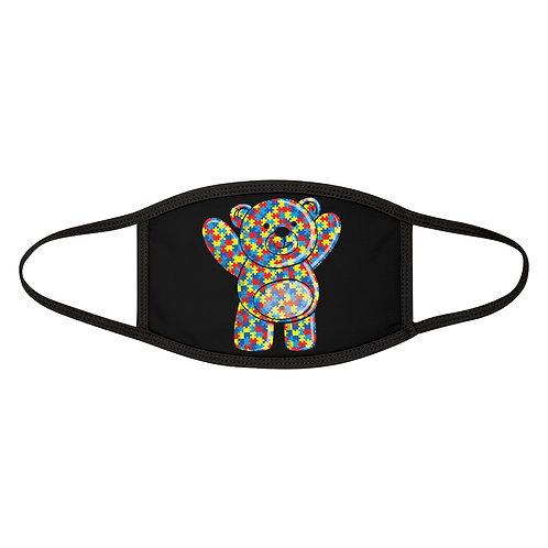 Autism Teddy Bear Adult Face Mask