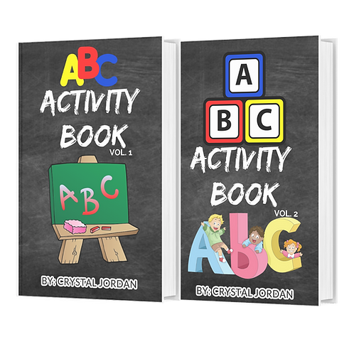 ABC ACITIVTY BOOK BUNDLE
