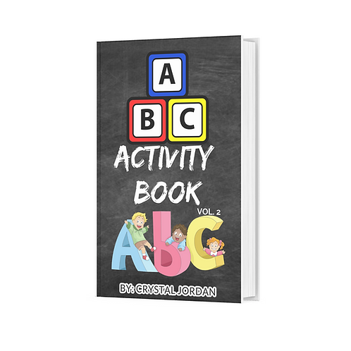 ABC  Stickers Activity Books