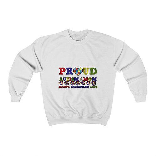 Proud Mom Autism Awareness  Sweatshirt