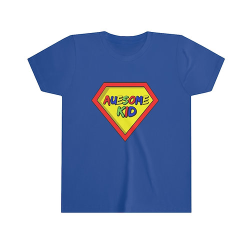 Auesome Kid Youth Short Sleeve Tee