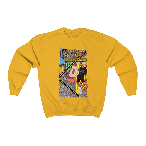 I Support Black Owned Businesses Sweatshirt
