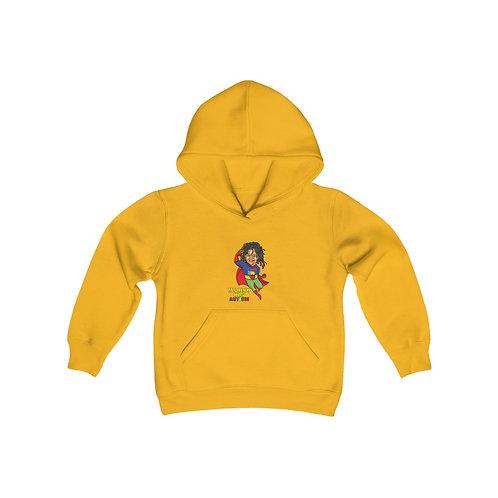 Limited Edition Gold Superhero Hooded Sweatshirt