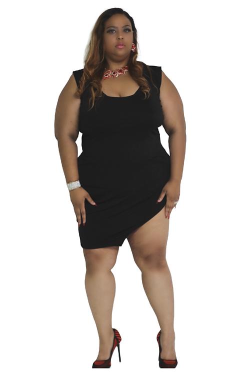 Curve Me Dress - Black