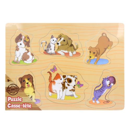 Pets Cassette Puzzle