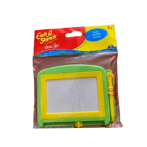 Etch A Sketch Doodle Green Yellow