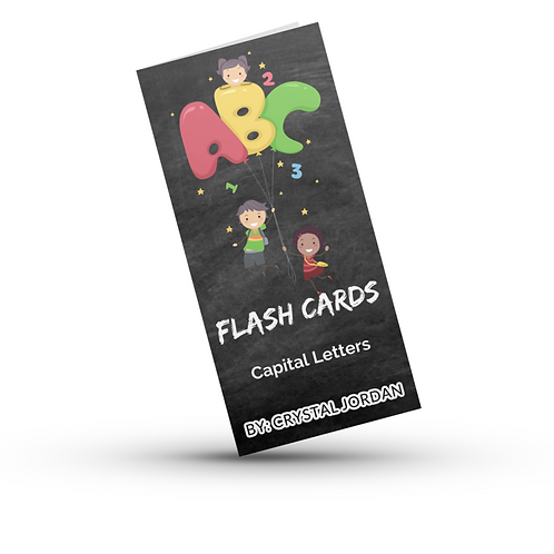 ABC Flash Cards Capital Letters