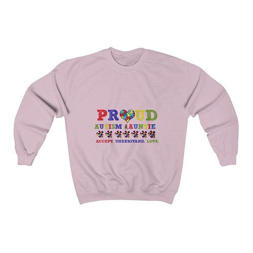 Proud Auntie Autism Awareness  Sweatshirt