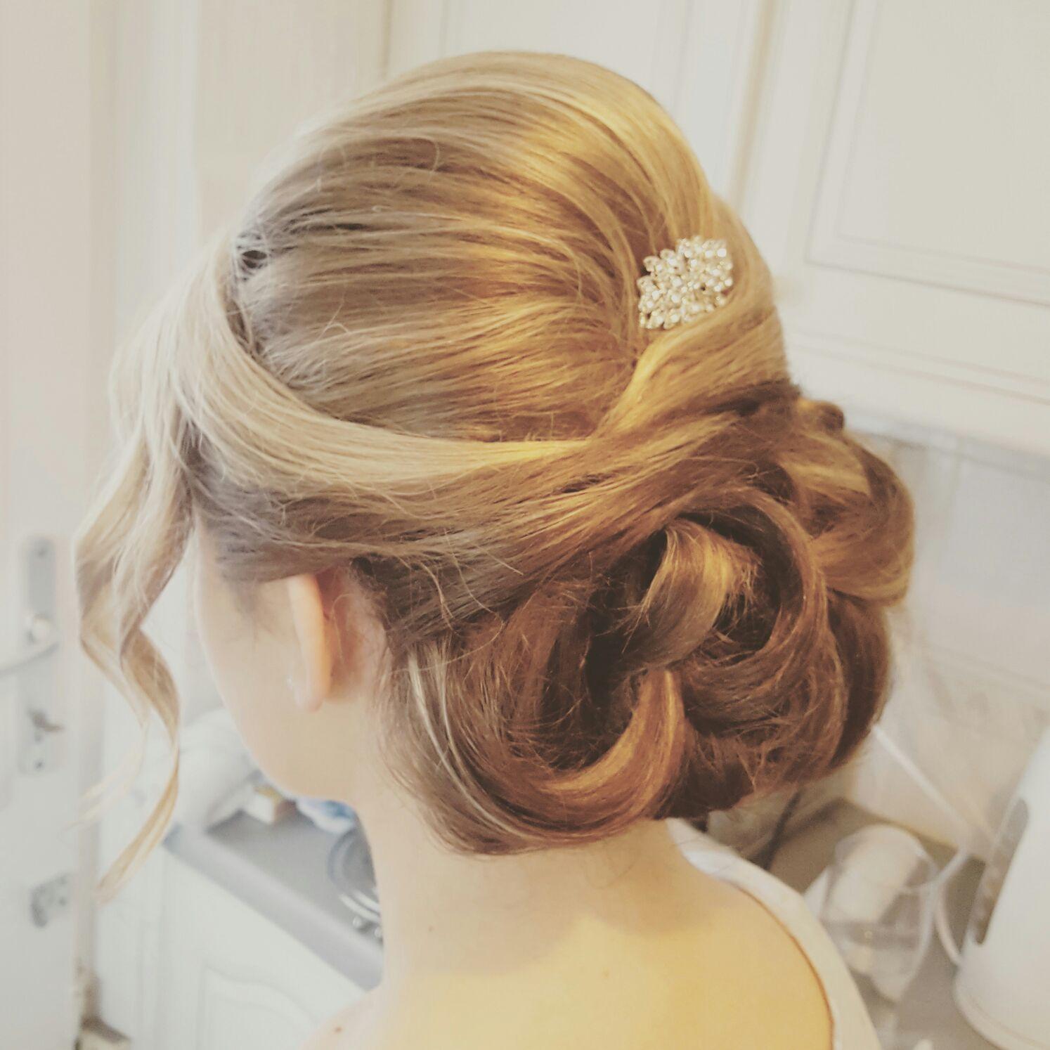 Lisa Ivone Wedding Hair Bridal Scotland