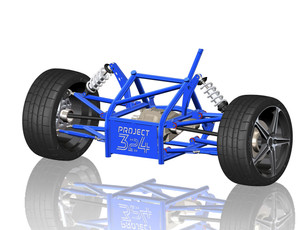 Solidworks 3D Model of Project 324