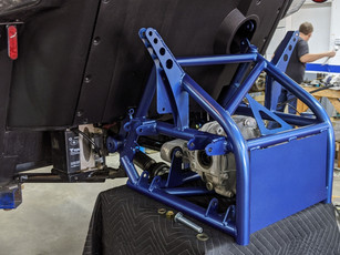 Installing Project 324 frame