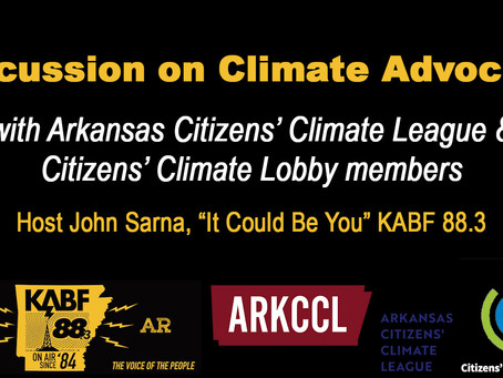 Discussing Climate Advocacy on KABF 88.3