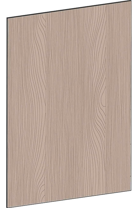 FLAT WALNUT - B62,2 x H88 cm, Täcksida bänkskåp, MEB744
