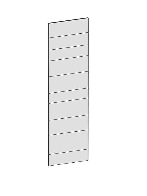 RAW OAK - B60 x H200 cm, Skåplucka högskåp vitvara  MEB131