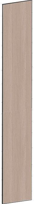 FLAT WALNUT - B39,8 x H248 cm, Täcksida högskåp, MEB751