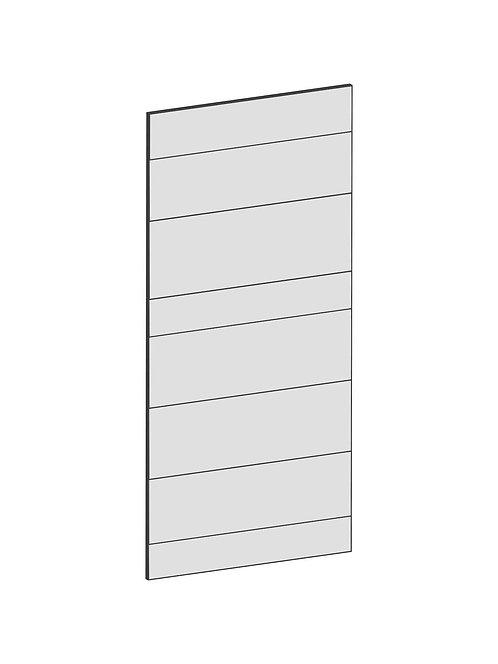 RAW OAK - B39,8 x H85 cm, Täcksida väggskåp, MEB162