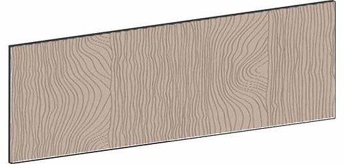 FLAT WALNUT - B60 x H20 cm, Lådfront MEB736