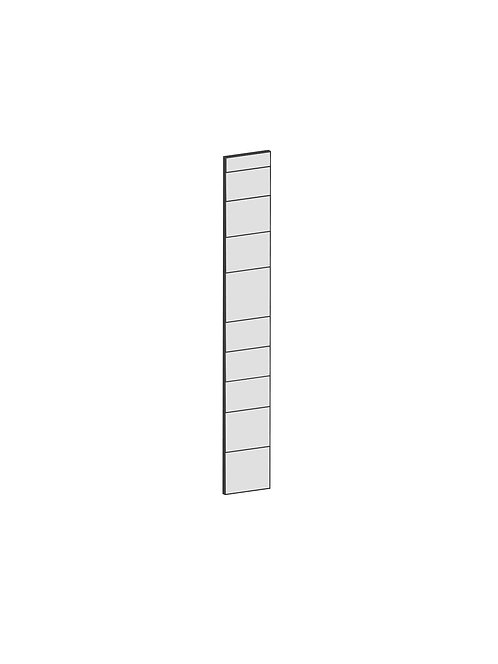 RAW OAK - B20 x H140 cm, Passbit MEB184