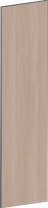 FLAT WALNUT - B62,2 x H248 cm, Täcksida högskåp, MEB759