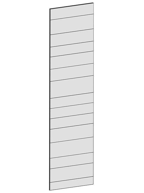 RAW OAK - B62,2 x H240 cm, Täcksida högskåp, MEB158