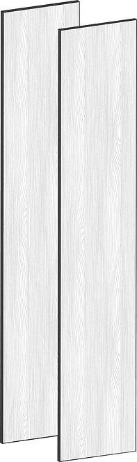 FLAT OAK - B75 x H195 cm (2 x 37 cm) Dörr, MEB490