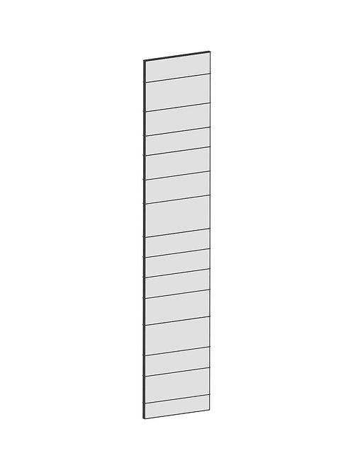 RAW OAK - B39,8 x H200 cm, Täcksida högskåp, MEB148