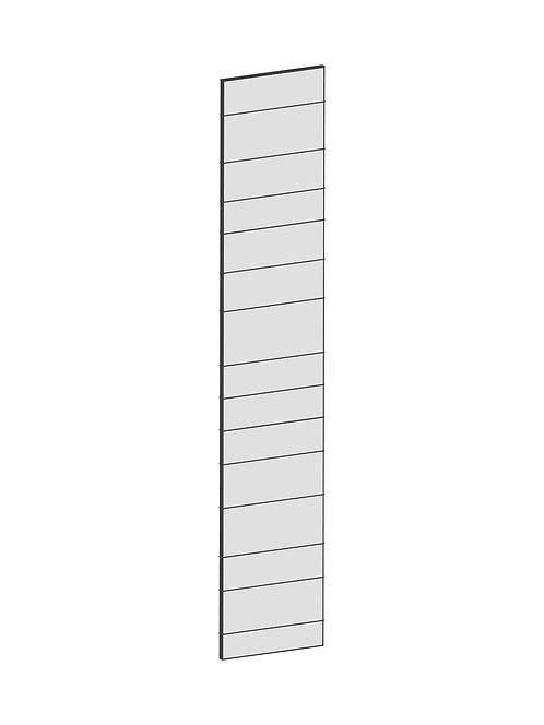 RAW OAK - B39,8 x H208 cm, Täcksida högskåp, MEB149