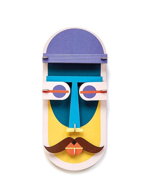 Walldecoration, Chicago Mask