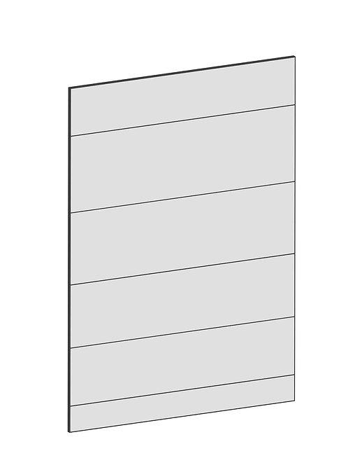 RAW OAK - B62,2 x H88 cm, Täcksida bänkskåp, MEB144