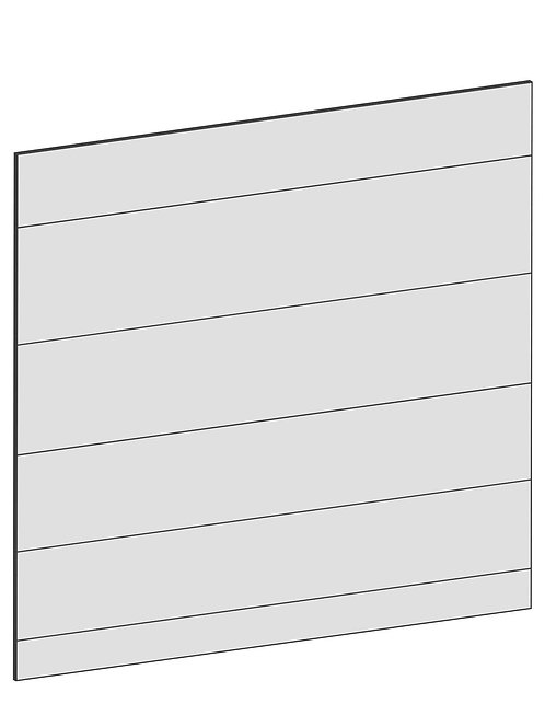 RAW OAK - B122,2 x H88 cm, Täcksida köksö, MEB147