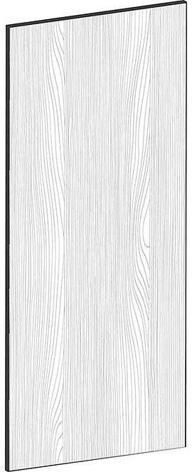 FLAT OAK - B60 x H140 cm, Skåplucka högskåp, vitvara MEB429