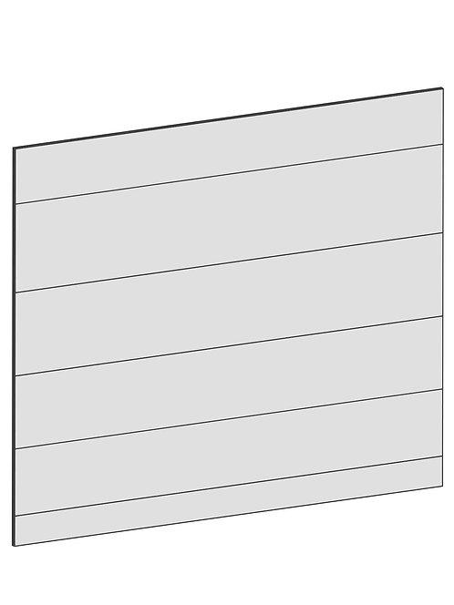 RAW OAK - B122,2 x H80 cm, Täcksida köksö, MEB207