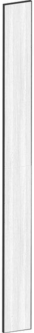 FLAT OAK - B20 x H220 cm, Passbit MEB486