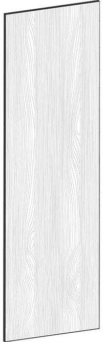 FLAT OAK - B62,2 x H200 cm, Täcksida högskåp, MEB454