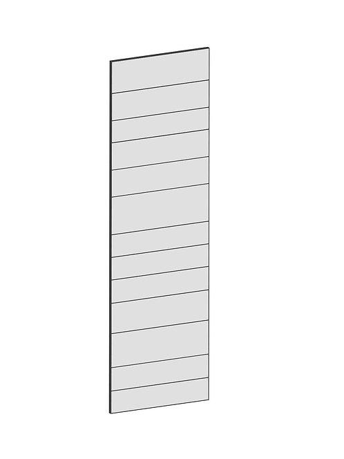 RAW OAK - B60 x H200 cm, Skåplucka högskåp MEB124