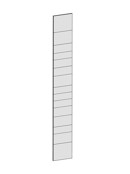 RAW OAK - B37 x H265 cm, Täcksida Pax, MEB201