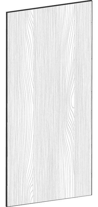 FLAT OAK - B40 x H80 cm, Skåplucka väggskåp MEB529