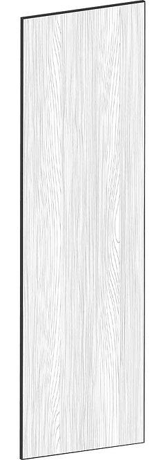 FLAT OAK - B60 x H201 cm, Täcksida Pax, MEB498
