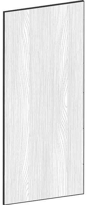 FLAT OAK - B62,2 x H140 cm, Täcksida högskåp, MEB452